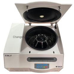 Tdl5 테이블탑 냉장 원심분리기 5000rpm 냉동 원심분리기