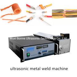 Электрические провода и склеивания Полуавтоматическая провода ультразвуковая сварка машины