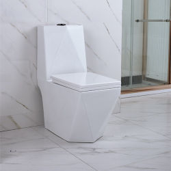 Grosse Falle der Größen-S oder P-Blockierwasser-Einsparung-einteilige Toilette mit Verlangsamung-Sitzdeckel (YL1017)
