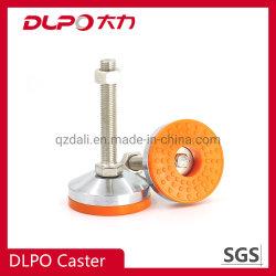 Acero inoxidable ajustable de nylon pies niveladores de perfil de aluminio con ranura en T