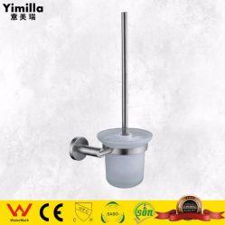 위생 상품 이음쇠 SS304는 호텔 목욕탕을%s 놓인 화장실 솔 홀더를 솔질했다