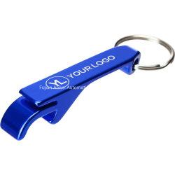 Fabricante de las ventas directas, la aleación de aluminio Abrebotellas pequeño regalo puede ser Logotipo personalizado