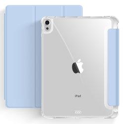 Cas transparent en acrylique pour iPad Air4 10.9 Porte-crayon cas magnétique