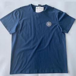 94 katoen en 6 Spandex Blend Summer Mens High Quality Fashion T-shirt Custom Thermal Transfer printer T-shirt