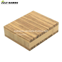 Tiger Strand Bamboo contreplaqué 3 plis Table en bois de Bambou haut Tiger Bamboo Plan de travail