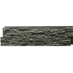 Caminetto in poliuretano pietra Siding Faux Rock Wall Panels Factory