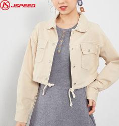 Mesdames Femmes manteau veste courte Denim Bombardier