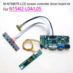 """voor N154I2-L04/L05 M. Nt68676 de Kaart 1280*800 15.4 """" VGA HDMI DVI Lvds 30pin van de Aandrijving van het Controlemechanisme van de Vertoning de Uitrusting van het Comité DIY van de Monitor van CCFL LCD"""