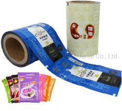 Commerce de gros BOPP Films d'enrubannage Rouleaux de film laminé d'emballage en plastique pour le café