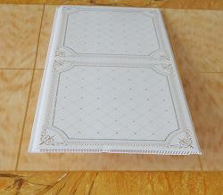 Imprimindo 20cm de largura do painel da parede de PVC de Fábrica, painel de forro de PVC, Painel de PVC