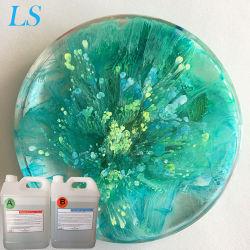 Radura curabile di trattamento UV acrilica chiara all'ingrosso della resina del Giappone DIY LED di prezzi duro per il mestiere dei monili
