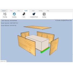 Julgamento livre Dnew palete e Crate Software de Design