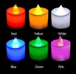 A tremulação Flameless Chá LED luz de velas para o casamento de terceiros