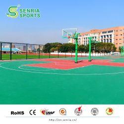 طلاء أرضية من البولي يوريثان من السيليكون PU طلاء خارجي لكرة السلة طلاء ملعب كرة السلة