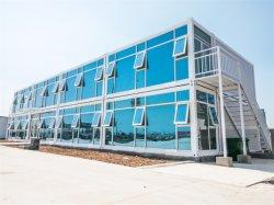 구조 경량 판매를 위한 강철에 의하여 조립식으로 만들어진 콘테이너 집은 단식한다