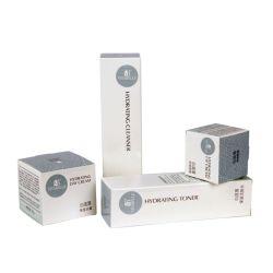 Eco Friendly petite boîte en carton<br/> cosmétique Emballage Taille personnalisée pour l'ensemble de soins de la peau d'impression personnalisée