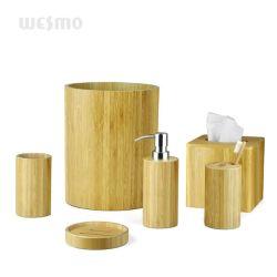 Accesorios de Baño Bambú cilíndricos