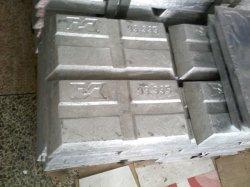 Les lingots en alliage de zinc haute pureté/les lingots de métaux non ferreux/lingot de zinc avec 99,99 %