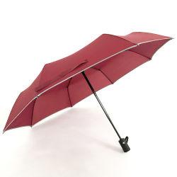 21-дюймовый Jujube складной зонтик автоматическая светоотражающие обязательные правила техники безопасности под эгидой