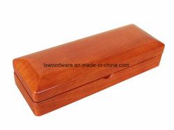 Глянцевая коричневого цвета дерева подарочная упаковка перьев для хранения пера сбора упаковке упаковка подарочная упаковка дела