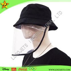 Form-abnehmbarer Gesichts-Schild-Hut-Schutzkappen-Wannen-Hut mit freiem schützendem Schild