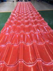 Clay Color beschichtete Metall Dachziegel für Wohnhaus