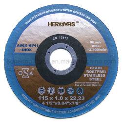 최고 얇은 질 스테인리스 절단 바퀴 (410001)