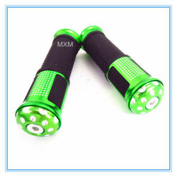 Lega Green Colour Hand Grips per Motorcycle/Scooter/Dirt Bike/ATV-Quads ecc