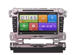 7 pouces pour Chevrolet Sail DVD du système de divertissement GPS