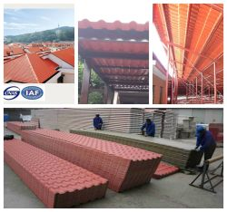 PVC Corrugated Compound per Thermoforming Roofing Sheet