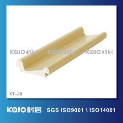 Decorativa impermeable Material WPC Perfil utilizado con la puerta (KT-020)