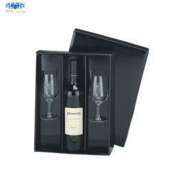 Kundenspezifische Luxuxfarbe druckte Wein-/Getränk-Paket-Pappgeschenk-Kasten