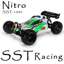 1/10台のスケール4WD RCのニトロ力のオフロードバギー(SST-1986)