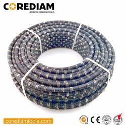 강철용 고무 및 스프링 고정 장치가 있는 전기도금 다이아몬드 와이어 Super Quality/Diamond Tool로 콘크리트 절단 강화