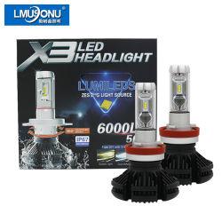 Lmusonu X3 H8/H9/H11 LED FARÓIS LED luz automática 25W 6000lm acessório do carro