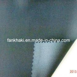 Tecido de Lã Worsted azul escuro da prensa (FKQD37800/5)
