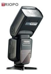Tr-988 Triopo Modo Dual Flash TTL Speedlite profesional con Alta Velocidad de sincronización para el Canon y Nikon cámaras digitales SLR