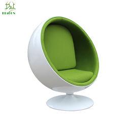 Зеленый ткань из стекловолокна для отдыха круглый шарик место Председателя