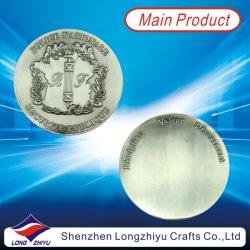 기념 3D 설계 동전 실버 메탈 맞춤형 메달, 골동품 유제품 메달사자 배지 챌린지 군용 동전 딜러, 금속 맞춤형 코인(LZY-1300042)