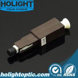Atenuador de fibra de Mu para cabo de fibra óptica