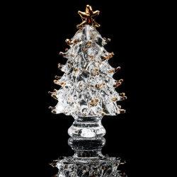 크리스털 크리스마스 트리 피구 홈 장식 컬렉션 레인보우 리피션