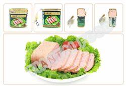 HACCPは缶詰にされた様式のポークランチョンミートを証明した