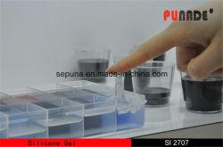 La RTV Secado rápido Gel de silicona de color azul claro para la electrónica (IS2707)