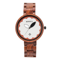 Nouvelle tendance mode populaire cadrans de montres en bois personnalisé