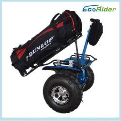 電気2車輪はゴルフキャリアが付いている一人乗り二輪馬車のスクーターを立てる