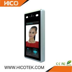 Reconhecimento facial a medição de temperatura Detecção de máscara de porta da tampa de bloqueio eletrônico de controle de acesso Controller