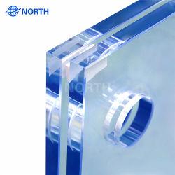Het in het groot 3 4 5 6 8 10 22mm Dikke Blauwe Grijze Glas van de Vlotter van Starphire van de Kleur van het Brons extra ultra Duidelijke Lage Ijzer Berijpte/het Weerspiegelende Off-line Lage E Glas van het Glas online