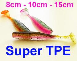 釣り道具の工場釣魅惑の釣餌TPEのTテール柔らかい餌の魅惑