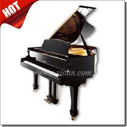 88 مفتاحًا بيانو كبير/بيانو أسود مصقول أبوستيك صامت (AGP-152)