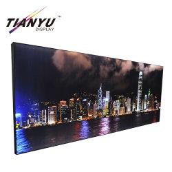 Tissu de haute qualité Frameless rétroéclairé Publicité boîte lumineuse à LED